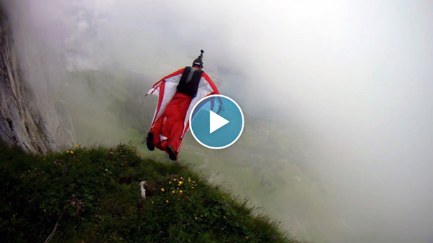 Lucid Dreams 2 luke hively wing suit base jump