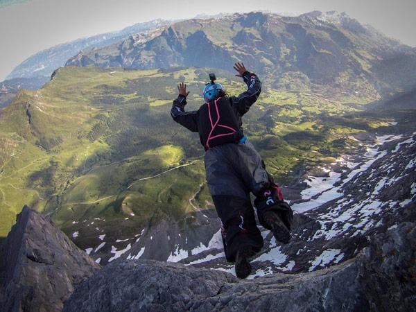 BASE, Jump, Europe, Switzerland, Eiger